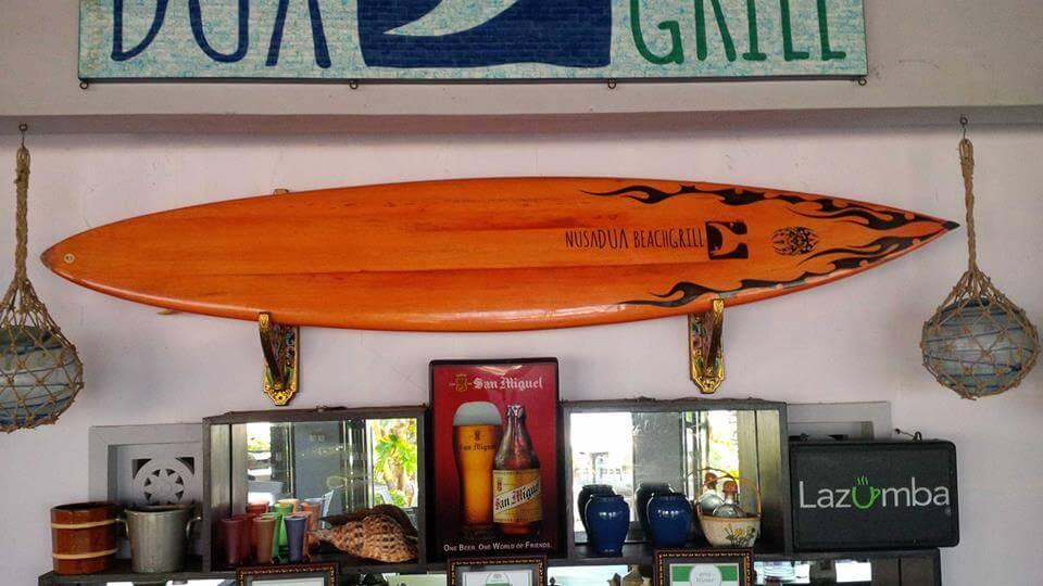 Bali Surfing charts|Nusa Dua Restaurants|Nusa Dua Beach Grill