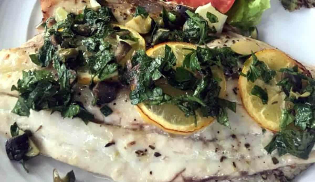 baramundi fillet | nusa dua restaurants | nusa dua beach grill