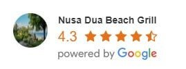 eating in nusa dua | google reviews | nusa dua beach gril