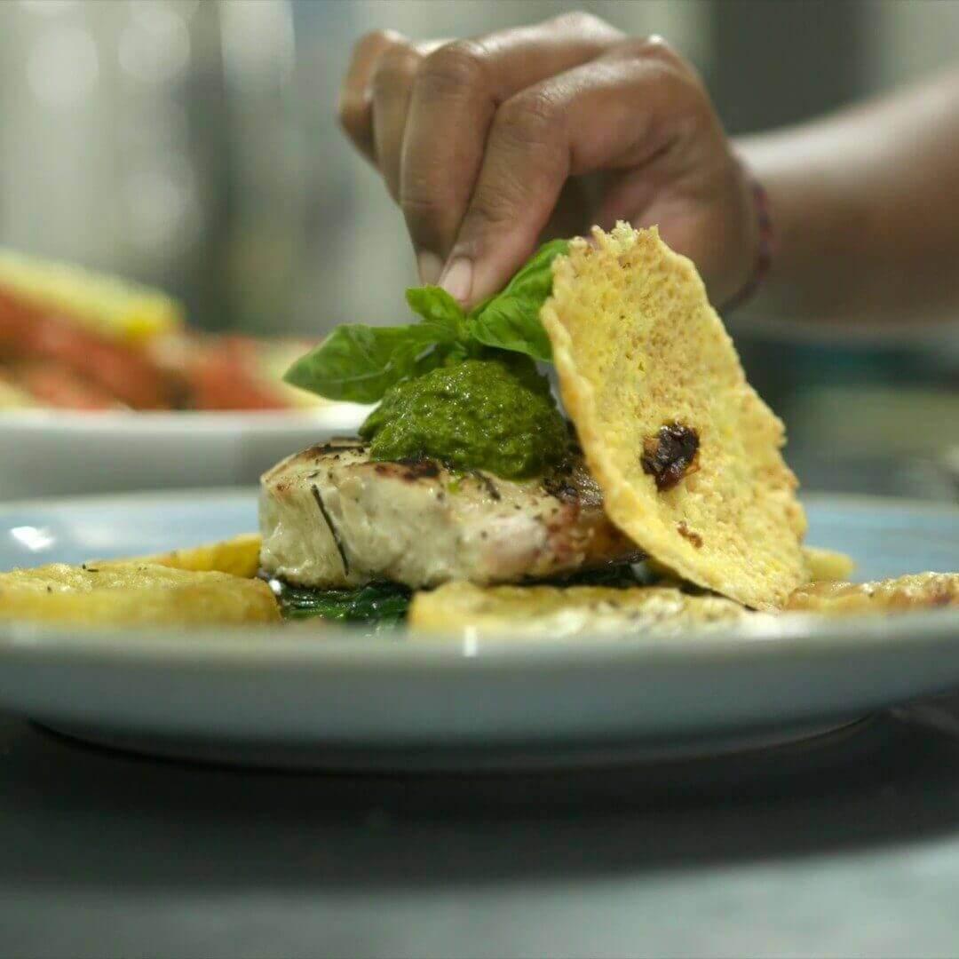 nusa dua seafood restaurants |  mahi mahi from nusa dua beach grill