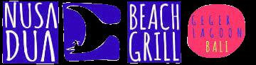nusa dua restaurants | nusa dua beach grill | logo