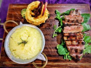 nua dua restaurants | sirloin steak