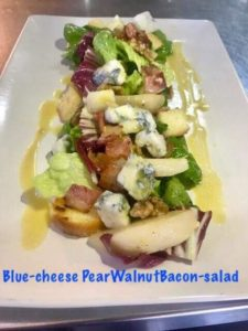 nusa dua restaurants |blue cheese salad